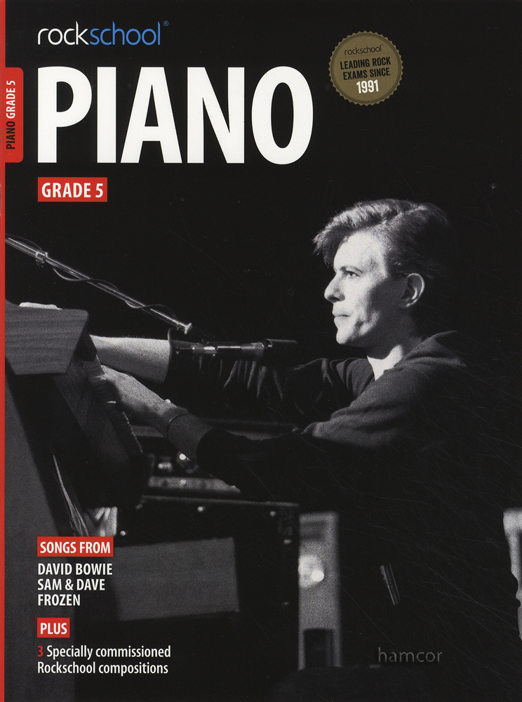 Libro RockSchool Piano 5