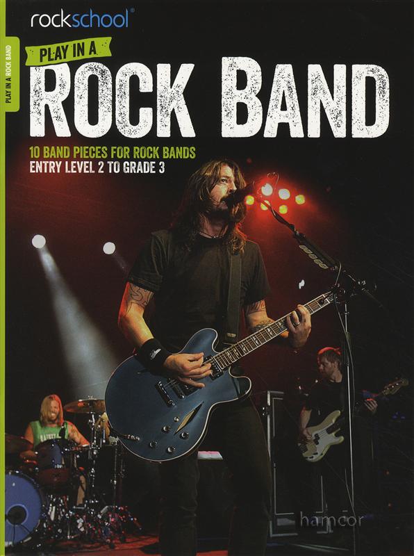 Libro Rock Band de RockSchool